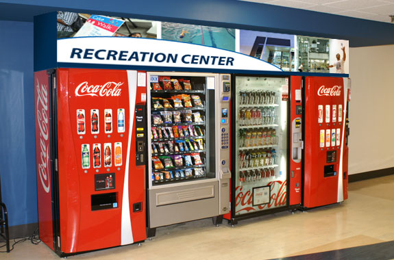 Recreation Center Vending After Area Treatment